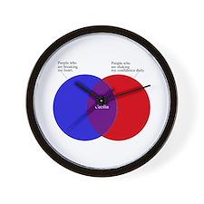 Funny Simon Wall Clock