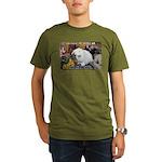 Valuable Pet Lesson #8 Organic Men's T-Shirt (dark