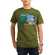 Hockey Christmas Cards & Gift T-Shirt