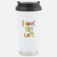 I Cook With Love Stainless Steel travel mug