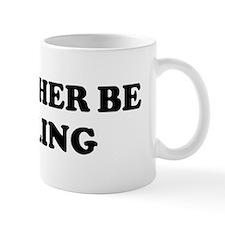 Rather be Curling Mug