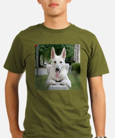 White German Shepard T-Shirt