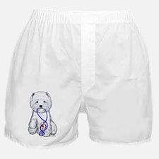 Westie Walkie Boxer Shorts