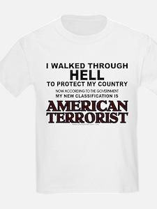 Classified Terrorist T-Shirt
