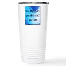 Think Abundance Travel Mug