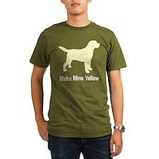 Make Mine Yellow Lab T-Shirt
