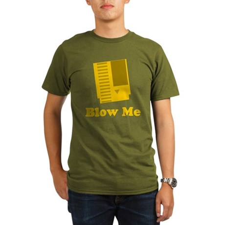 Blow Me Organic Men's T-Shirt (dark)