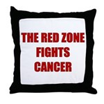 The Red Zone Throw Pillow