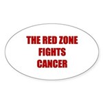 The Red Zone Oval Sticker (10 pk)