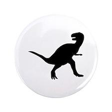 """Dinosaur - T-Rex 3.5"""" Button (100 pack)"""