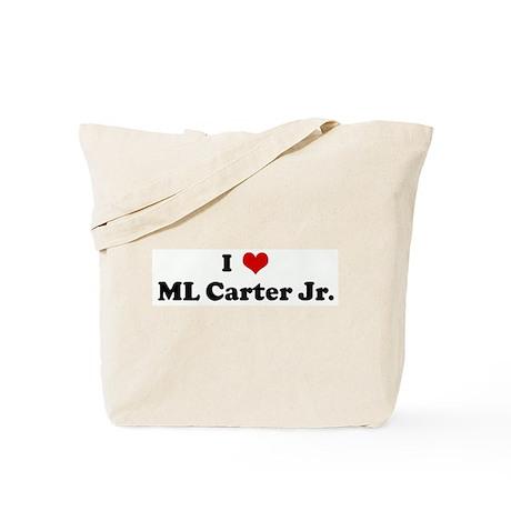 I Love ML Carter Jr. Tote Bag