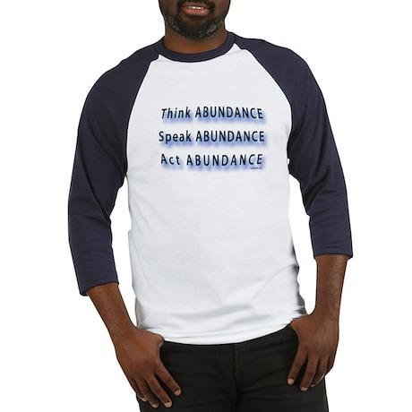 Think Abundance Baseball Jersey