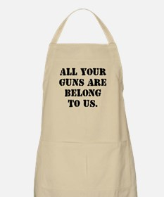 Give Us Your Guns BBQ Apron
