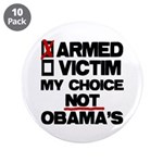 "My Choice 3.5"" Button (10 pack)"