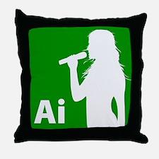 American Idol Girl Throw Pillow