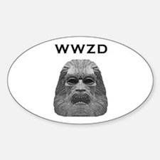 Zardoz Oval Decal
