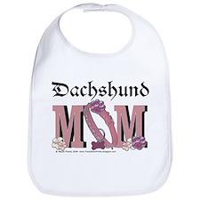 Dachshund MOM Bib