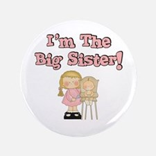 """I'm The Big Sister 3.5"""" Button"""