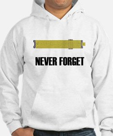Never Forget Slide Rules 2 Hoodie