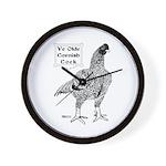 Ye Olde Cornish Cock Wall Clock