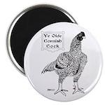 Ye Olde Cornish Cock Magnet
