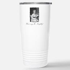 Where's My Mr. Darcy? Travel Mug