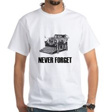 Never Forget Typewriters Shirt