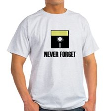 Never Forget Floppy Disks T-Shirt