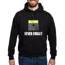 Never Forget Floppy Disks Hoodie