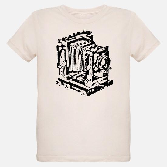 Ebony Large Format Camera T-Shirt