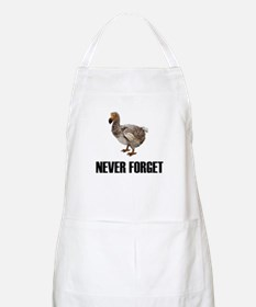 Never Forget Dodo Birds BBQ Apron