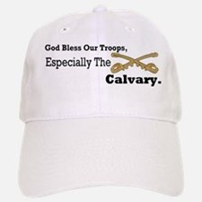 God bless our troops: calvary Baseball Baseball Cap
