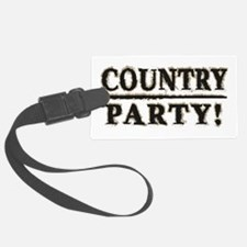 Country Party! Luggage Tag