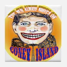 Unique Coney island Tile Coaster