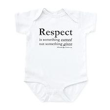 Respect Infant Bodysuit