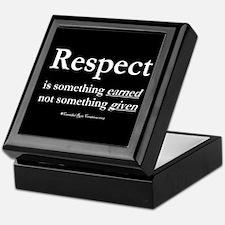 Respect 2 Keepsake Box