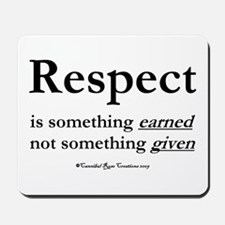 Respect Mousepad