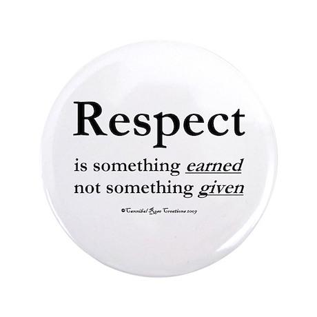 """Respect 3.5"""" Button"""