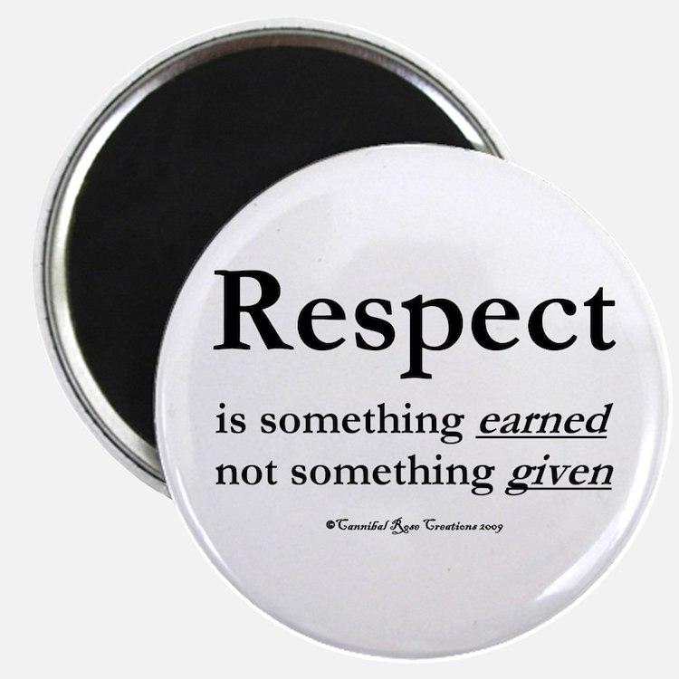 Respect Magnet