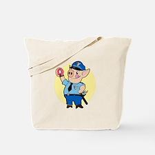 Cop Chops Tote Bag