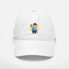 Cop Chops Baseball Baseball Cap