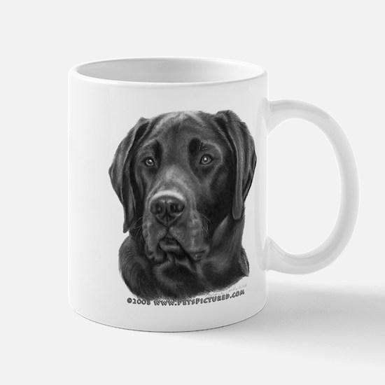 Diesel, Black Lab Mug
