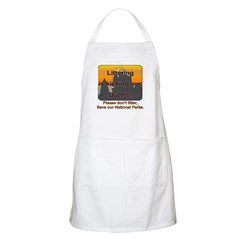 Littering kicks Buttes BBQ Apron