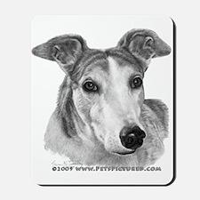 Zoie, Greyhound Mousepad