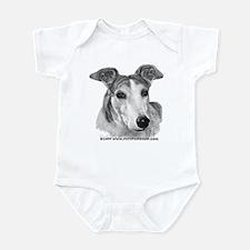 Zoie, Greyhound Infant Bodysuit