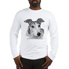 Zoie, Greyhound Long Sleeve T-Shirt