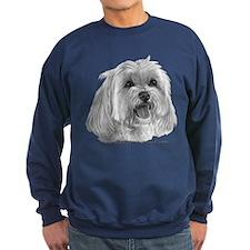 Sadie, Maltese Sweatshirt