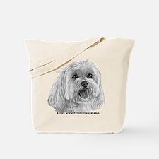 Sadie, Maltese Tote Bag