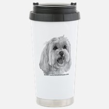 Sadie, Maltese Travel Mug