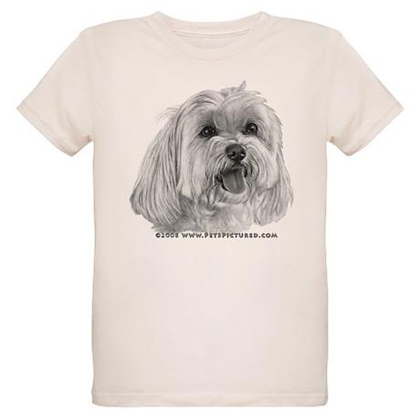 Sadie, Maltese Organic Kids T-Shirt